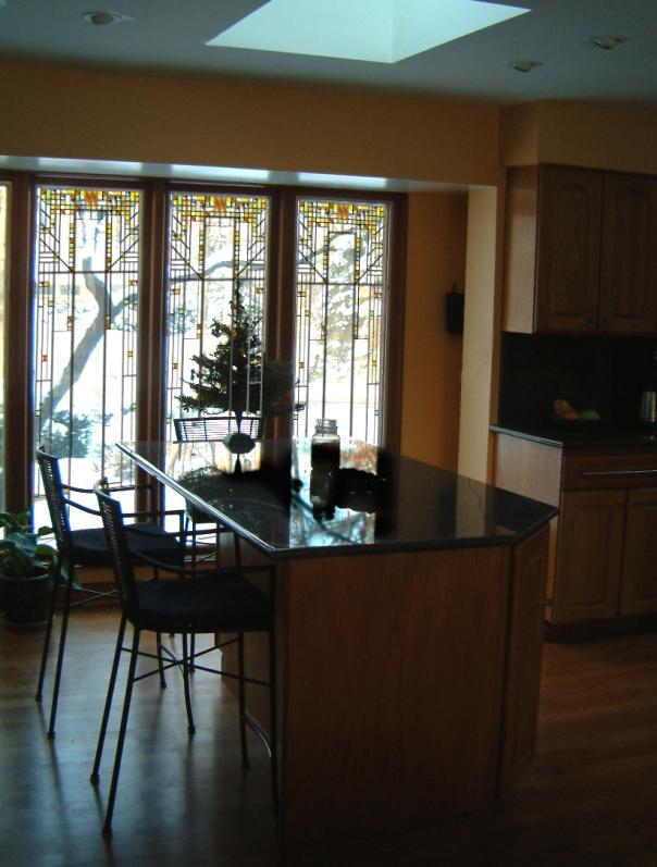 Oak House Window Design